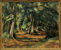 Cézanne / Forest path /  c. 1892 by AKG  Images