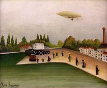 H.Rousseau, Blick vom Quai d'Ivry von AKG  Images