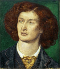 Swinburne / Drawing by D.G. Rossetti by AKG  Images
