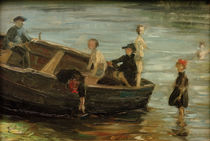Franz Marc, Children in a boat by AKG  Images