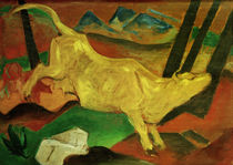 F.Marc, The Yellow Cow (Sketch) / 1911 by AKG  Images