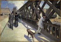 G.Caillebotte, Le Pont de l'Europe von AKG  Images