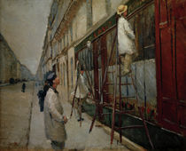 G.Caillebotte, painters / painting by AKG  Images
