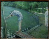 Caillebotte / BAthers / Pastel drawing by AKG  Images