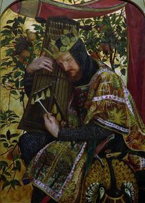 D.G.Rossetti / David as King. by AKG  Images