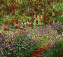 Claude Monet / The Garden / Painting by AKG  Images