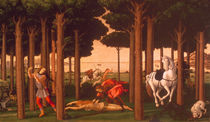 Botticelli / Story of Nastagio II / 1483 by AKG  Images