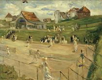 M.Liebermann, Tennis court in Noordwijk by AKG  Images