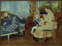 Renoir / Afternoon of the children /1884 by AKG  Images