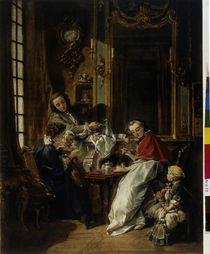 F. Boucher, Das Frühstück/ 1739 von AKG  Images
