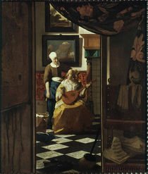 Vermeer / The love letter by AKG  Images