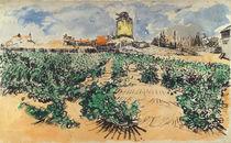 Van Gogh / Mont Majour / 1888 by AKG  Images