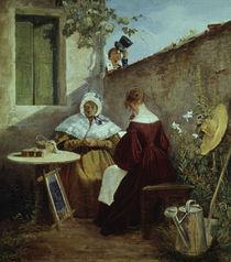 C.Spitzweg, Der Liebesbrief/um 1845–46 by AKG  Images