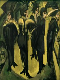 Ernst Ludwig Kirchner, Five women on the street by AKG  Images