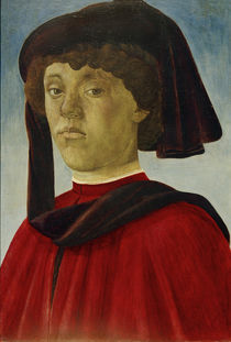 S.Botticelli / Portrait of a Young Man by AKG  Images