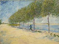 V. van Gogh, Spaziergang am Seineufer von AKG  Images