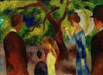 August Macke, Promenade, 1914 by AKG  Images