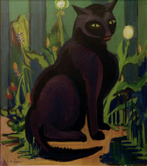 E.L.Kirchner / Black Tomcat by AKG  Images