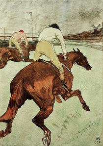 Toulouse-Lautrec / Jockey/ 1899 von AKG  Images