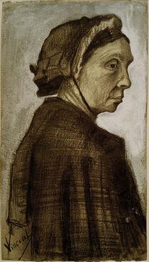 V. van Gogh, Kopf einer Frau von AKG  Images