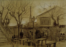 Van Gogh, Guinguette / Draw./ 1887 by AKG  Images