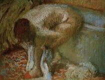 E.Degas, Füße abtrocknende Frau von AKG  Images