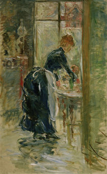 B.Morisot, The little servant, 1886 by AKG  Images