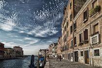 Himmel über Venedig von Bruno Schmidiger