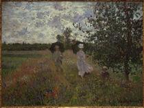 C.Monet, Spaziergang bei Argenteuil von AKG  Images