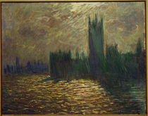 C.Monet, Parliament, reflections by AKG  Images
