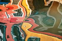 Spiegelung abstrakt by Bruno Schmidiger