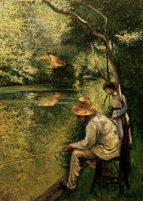 Caillebotte / Angler (Fisher) / 1878 by AKG  Images