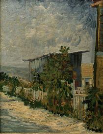V. v. Gogh, Schuppen mit Sonnenblumen von AKG  Images