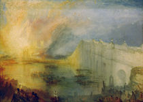 W.Turner, Brand der Houses of Lords and von AKG  Images