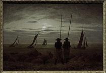 C.D.Friedrich, Mondnacht am Strand von AKG  Images