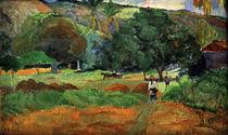 Paul Gauguin / Le Vallon / painting. by AKG  Images