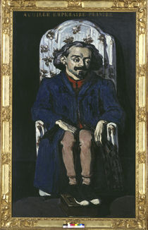 P.Cézanne, Achille Emperaire /  c. 1868 by AKG  Images