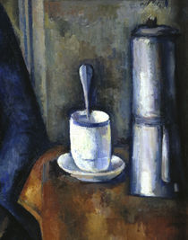 P.Cézanne / Woman with coffee pot / Det. by AKG  Images