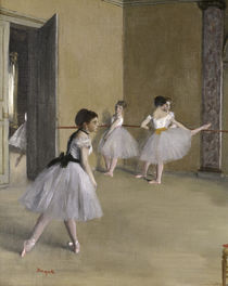 E.Degas / Ballet room at the Peletier by AKG  Images