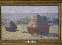 C.Monet / Haystack / Late summer by AKG  Images