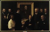 H.Fantin-Latour, Hommage à Delacroix by AKG  Images