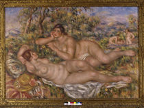 A.Renoir, Badende / 1918–19 von AKG  Images