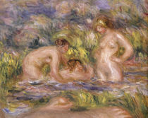 A.Renoir / Bathers / 1918–19 / Detail by AKG  Images