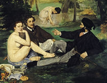 Edouard Manet, Déjeuner sur l'herbe/1863 by AKG  Images