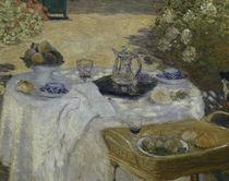 Monet / Le Déjeuner / 1872 / Detail by AKG  Images