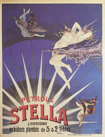 Stella Petroleum / Poster 1897 by AKG  Images