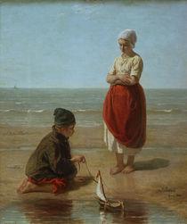 Jozef Israëls, Fishermen's Children by AKG  Images