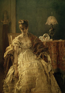 Desperate / A. Stevens / Painting c.1873/75 by AKG  Images