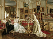 Alfred Stevens, The painter's study by AKG  Images