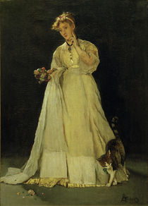 Ophelia or the Broken Bouquet / A. Stevens / Painting, c.1865/67 by AKG  Images